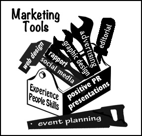 Kathryn R Burke's marketing tools